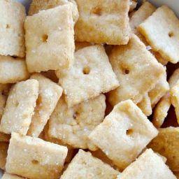 Gluten-free Vegan Cheez-Its