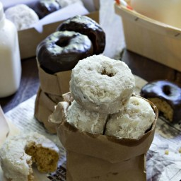 Gluten-Free Vegan Mini Donuts