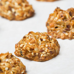 Gluten Free Vegan Oatmeal Cookies