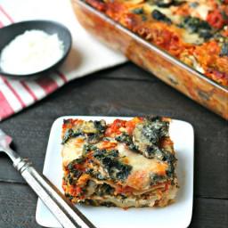 Gluten Free Vegetarian Lasagna