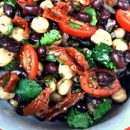 Gluten-Free, Vegetarian, Vegan Balela Salad Recipe