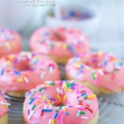 Gluten Free Yellow Cake Donuts