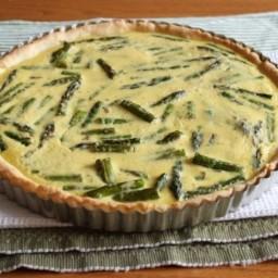 Gluten-Free Roasted Asparagus Tart