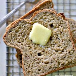 Gluten-Free Vegan Bread (xanthan gum-free)