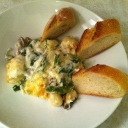 Gnocchi Gratin with Gorgonzola