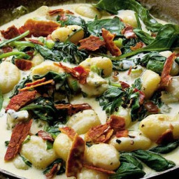 Gnocchi With Two cheeses & Bacon