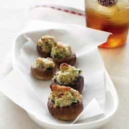 Goat-Cheese Stuffed Mushrooms