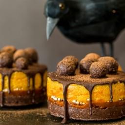 Goji and Pumpin Mini Cakes