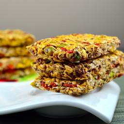 Goji berry and pistachio granola bars