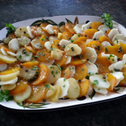 Golden Beet & Potato Salad