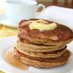 Golden Flaxseed Pancakes