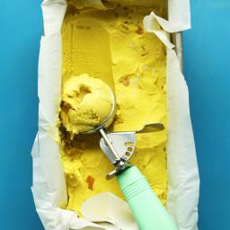 Golden Milk Ice Cream (Vegan)