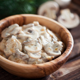 Golden Mushroom Gravy