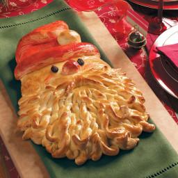 Golden Santa Bread Recipe