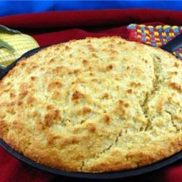 Golden Yellow Corn Bread