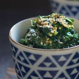how to make spinach gomae
