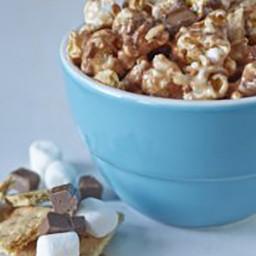 Gooey S'Mores Popcorn