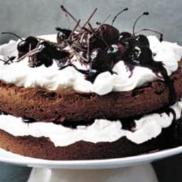 Gordon Ramsay's Black Forest cake