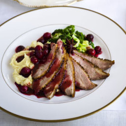 Gordon Ramsay's duck breast with spiced orange recipe