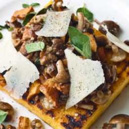 Gordon Ramsay's mushroom polenta