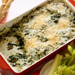 Gorgonzola Spinach Artichoke Dip