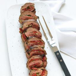 Gorgonzola-Stuffed Steak Roll-Ups