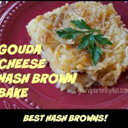 Gouda Cheese Hash Brown Bake
