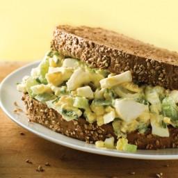 Gourmet Egg Salad Sandwich