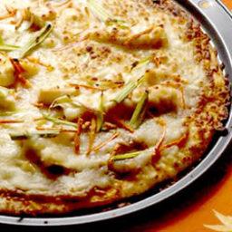 Island Pub's Gourmet Thai Chicken Pizza