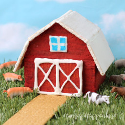 Graham Cracker Barn
