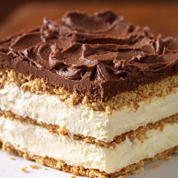 Graham Cracker Éclair Cake