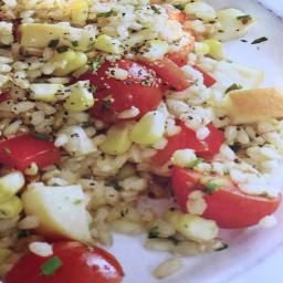 Grain and vegetable salad