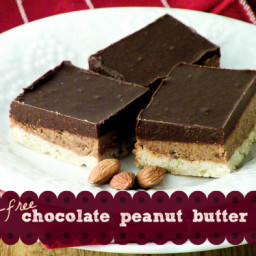 Grain-Free Chocolate Peanut Butter Bars Recipe