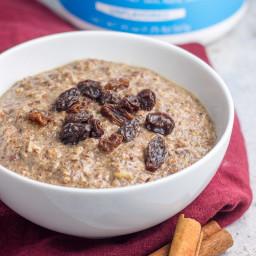 Grain Free Gingerbread Porridge (paleo)