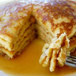 Grain Free Lemon Buttermilk Pancakes