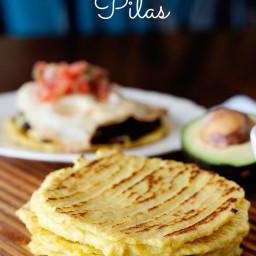 Grain Free Pitas - Cauliflower Pizza Crusts