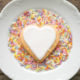 Grain-Free Rainbow Sprinkle Sugar Cookies