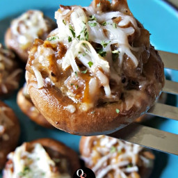 Grain Free Stuffed Mushrooms - Easy Low Carb Appetizers