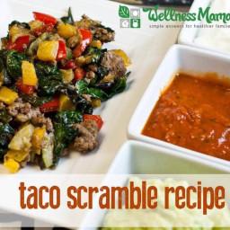 Grain-Free Taco Scramble Recipe (Easy, Healthy, and Delicious!)