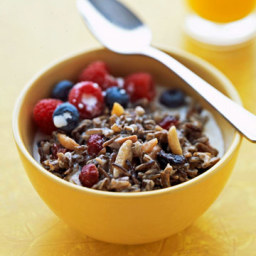 Grammy's Wild Rice Porridge