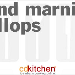 Grand Marnier Scallops