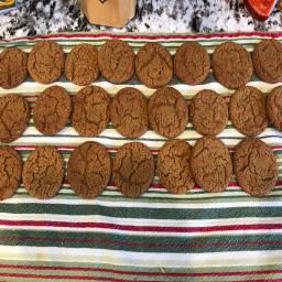 Grandma Alvera's Molasses cookies
