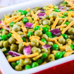 Grandma Lois' Sweet Green Pea Salad