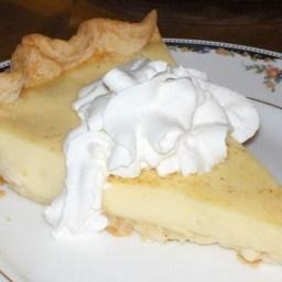 Grandma's Egg Custard Pie