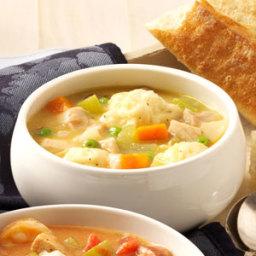 Grandma's Chicken 'n' Dumpling Soup Recipe