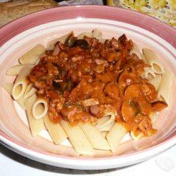 Granny Smith Jnr's Smoked Sausage Pasta Sauce