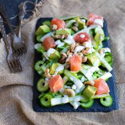 Grapefruit and Avocado Summer Salad