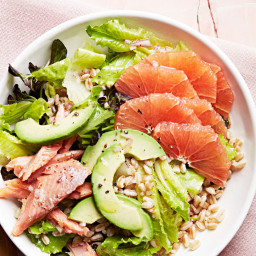 Grapefruit and Smoked-Trout Cobb Salad