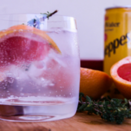Grapefruit and Thyme G and T