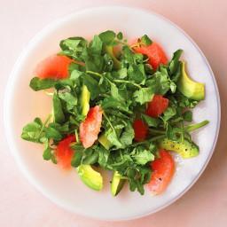 Grapefruit and Watercress Salad